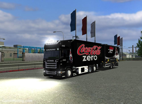 Scania BDF Tandem Euro Truck Simulator Mod