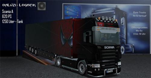 Scania Spiderman Skin ETS Truck