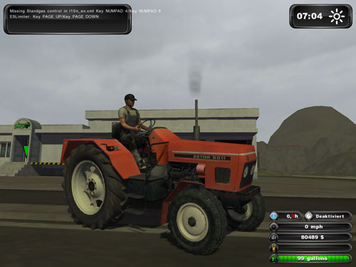 Zetor 5011 Original Tractor