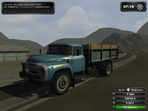 Zil 130 Slage and Grain Transport