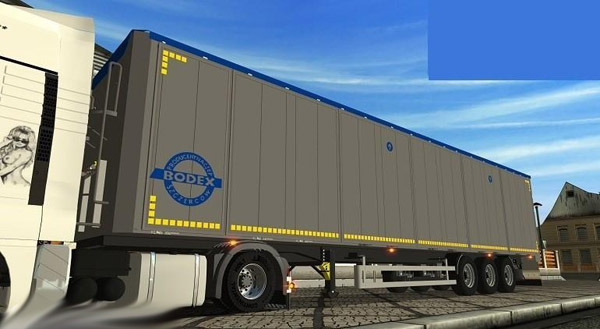 Bodex Trailer For GTS