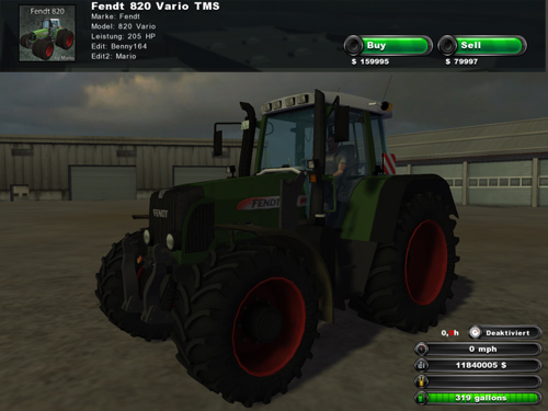 Fendt Vario 820 TMS