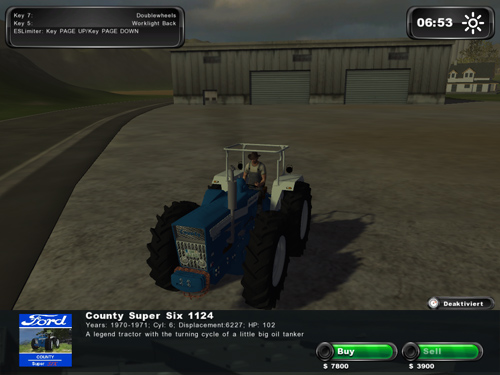 Ford County Super Six Model 1124 v 1