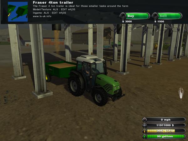 Fraser 4 ton