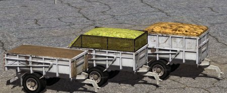 MV2 Opava STS-027 Package [3 Units Trailer]