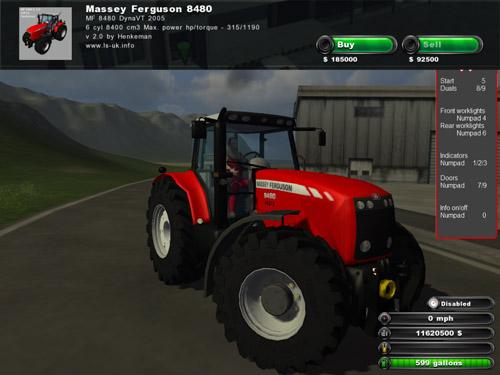 Massey Ferguson8480