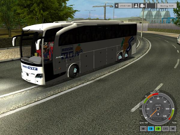 Euro Truck Simulator  Bus Mod Mercedes Benz Telecharger Gratuit
