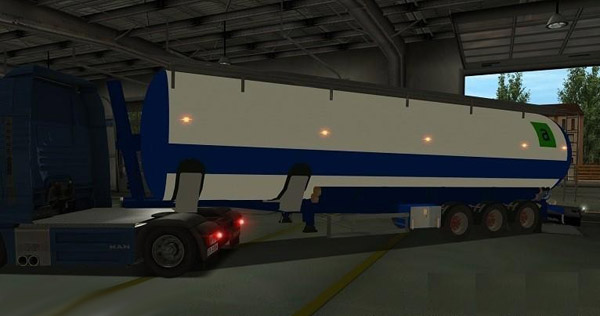 Samro silo Trailer For GTS