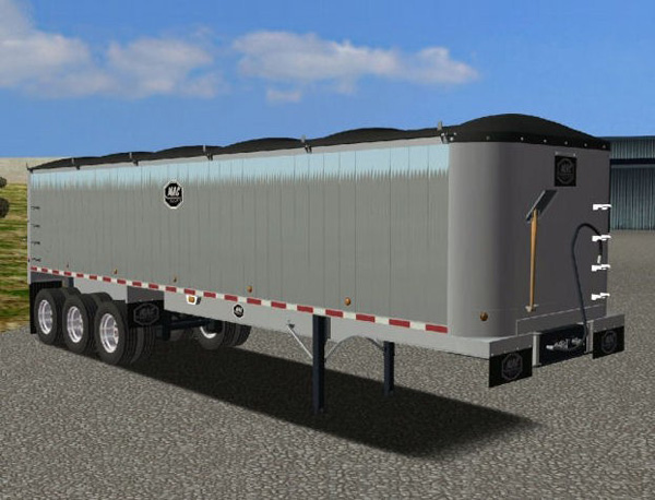 Smooth Side Rear Dump For Haulin