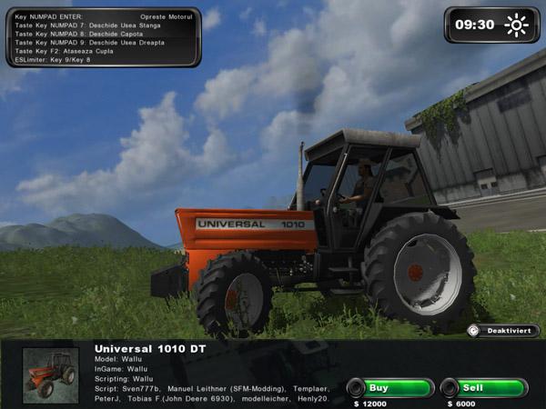 Universal 1010 TD Tractor