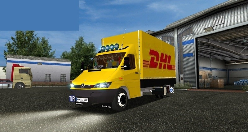 Mercedes Sprinter DHL For GTS