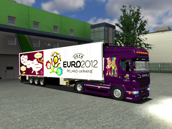 Scania R730 And Trailer Euro 2012 for ETS
