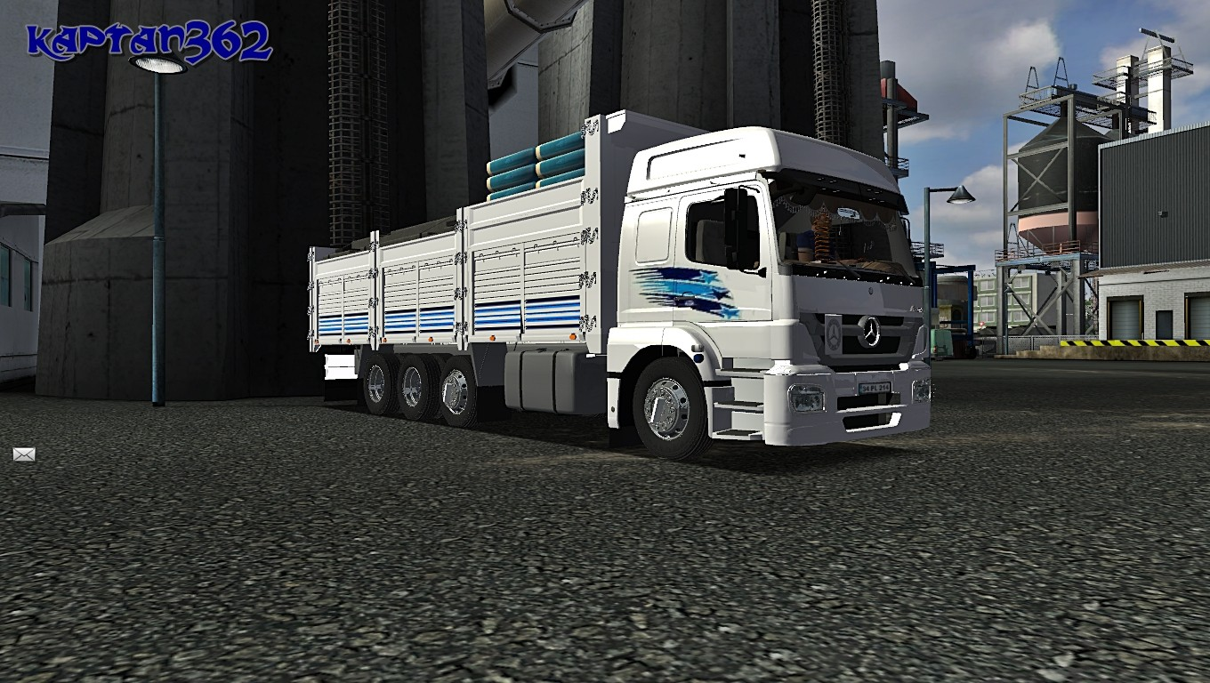 Mercedes Benz Axor 18431 For GTS