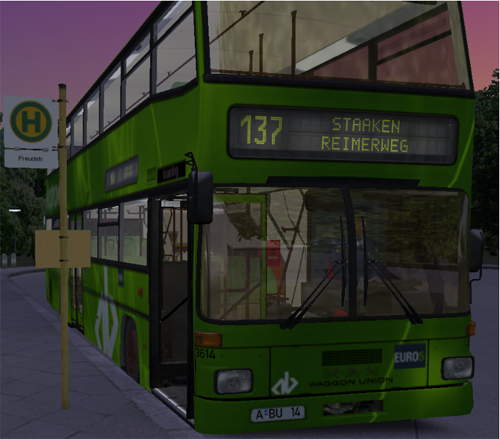 MAN D87R  Bus – OMSI Bus Simulator