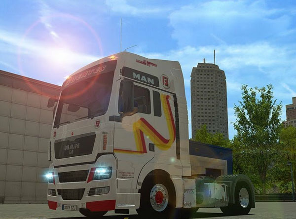 MAN TGX Grupo Logistic For GTS
