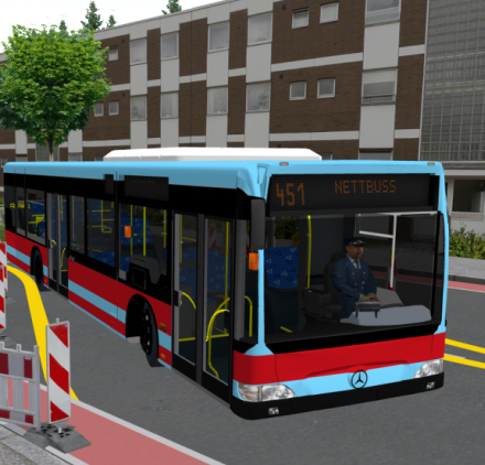 Mercedes Benz Citaro Bus – Omsi Bus Simulator Mods