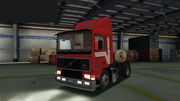 Volvo F10 German Truck Simulator Mod