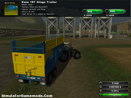 Standard Kane Silage 18 Tons Trailers