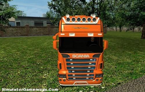 Scania-R580 Longline Singer
