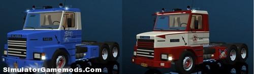 Scania T 142E 6×4