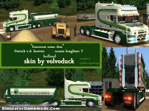 Scania T Longline patrick