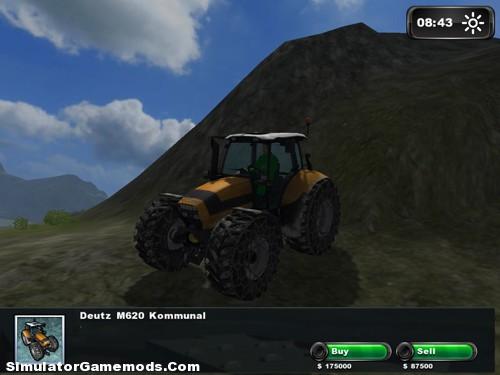 Deutz Agrotron M620 Kommunal