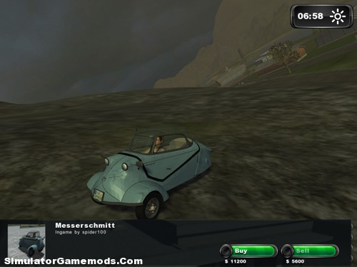 Classic Messerschmitt Bubble Car