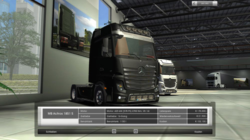 mercedes benz actros 1851For GTS