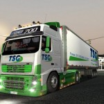 TSG Transport Volvo FH700 And Trailer For GTS