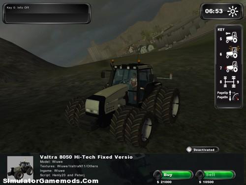 Valtra 8050