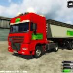 DAF XF Hoehlschen Euro Truck Simulator
