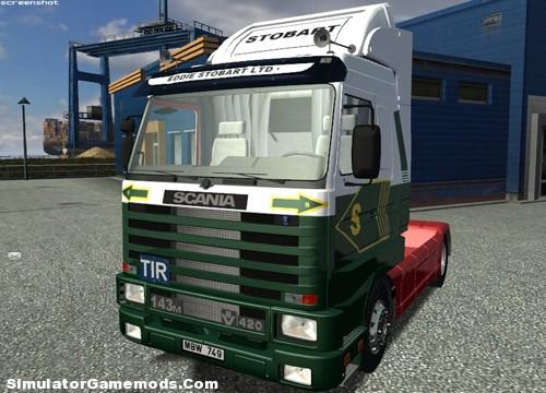Eddie Stobart Scania 143M German Truck Simulator