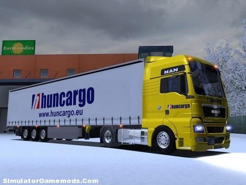 Man Huncargo Euro Truck Simulator