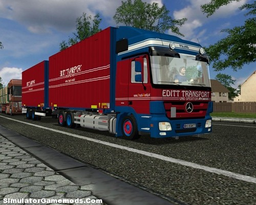MPIII Transport German Truck Simulator