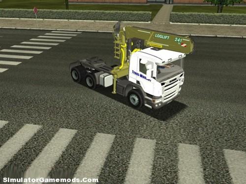 SCANIA P420 Euro Truck Simulator