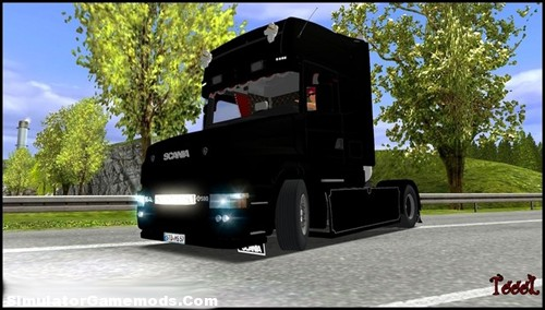Scania 164L 580 German Truck Simulator