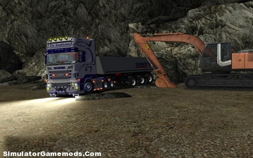 Scania-R730 German Truck Simulator