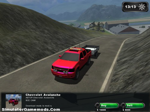 Chevrolet Avalanche and Trailer