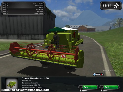 Claas Dominator 100 Pack