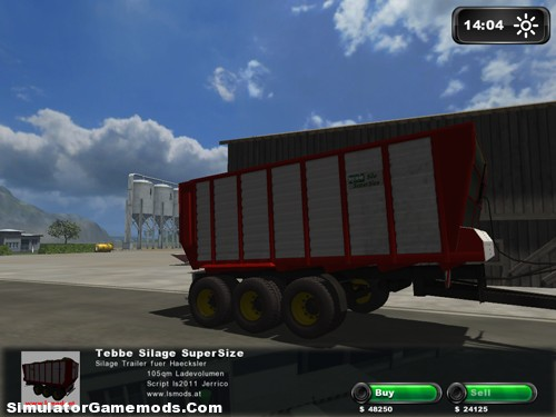 Tebbe Silage Trailer