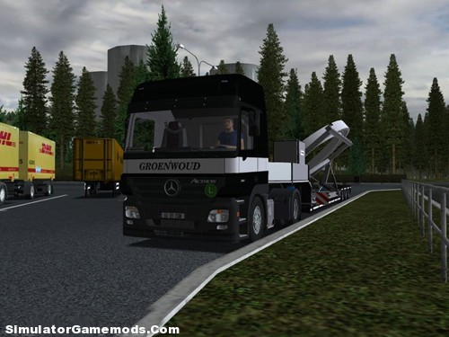 Combo Actros Euro Truck Simulator