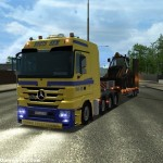 MB Actros Euro Truck Simulator
