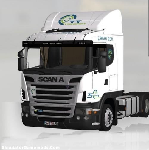 Scania G 420 Low Deck German Truck Simulator