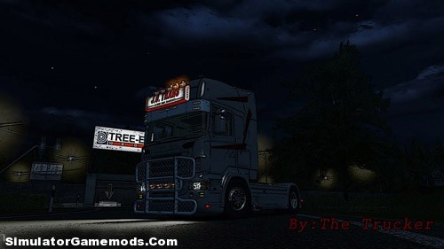 Scania J.O German Truck Simulator
