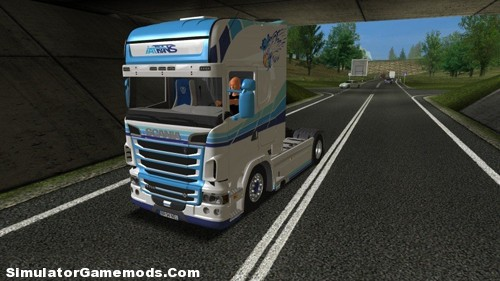 Scania R730 German Truck Simulator