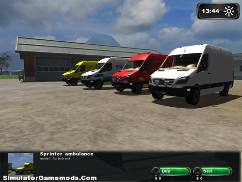 Mercedes Benz Sprinter Rescue Pack (Swedish Style)