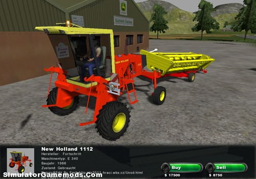 New Holland 1112 Combine