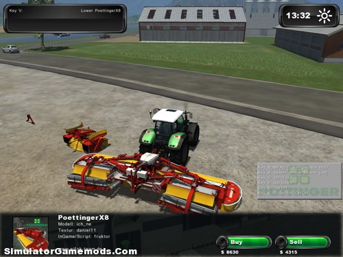 Pottinger Alpha Motion & Novacat X8 Collector