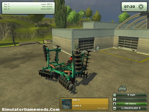 BDP Disc 6 Cultivator