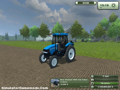New Holland TD50
